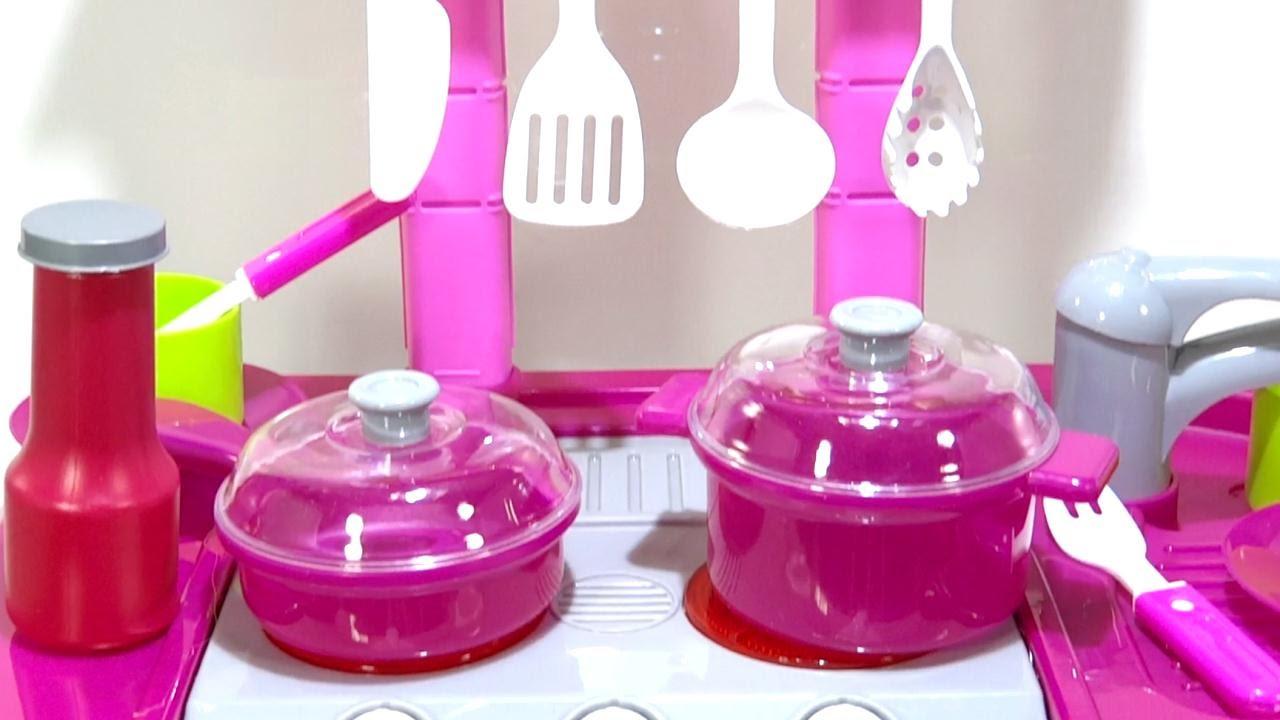 Juego de cocina rosado almac n - J uegos de cocina ...